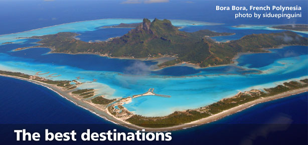 The best destinations