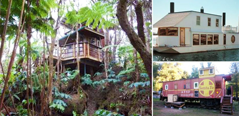 10 quirky vacation rentals